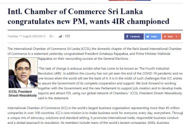 intl.-chamber-of-commerce-sri-lanka-congratulates-new-pm